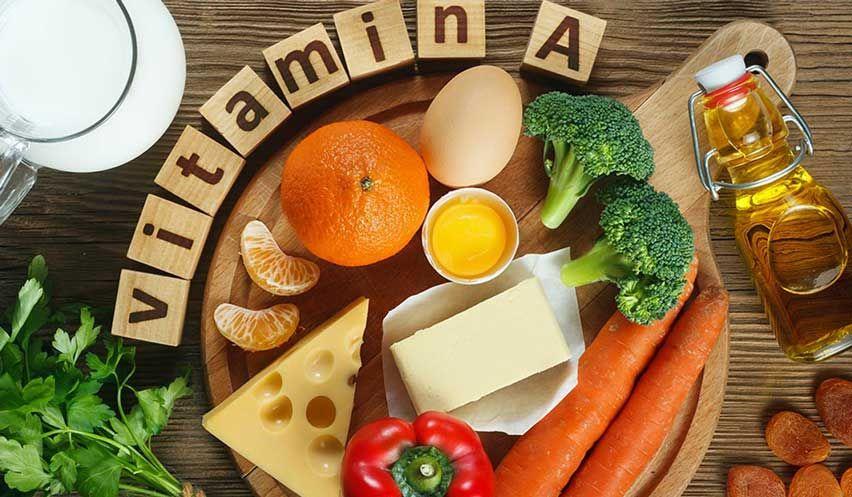 فوائد فيتامين أ Vitamin A Foods Vitamins Vitamins For Hair Growth