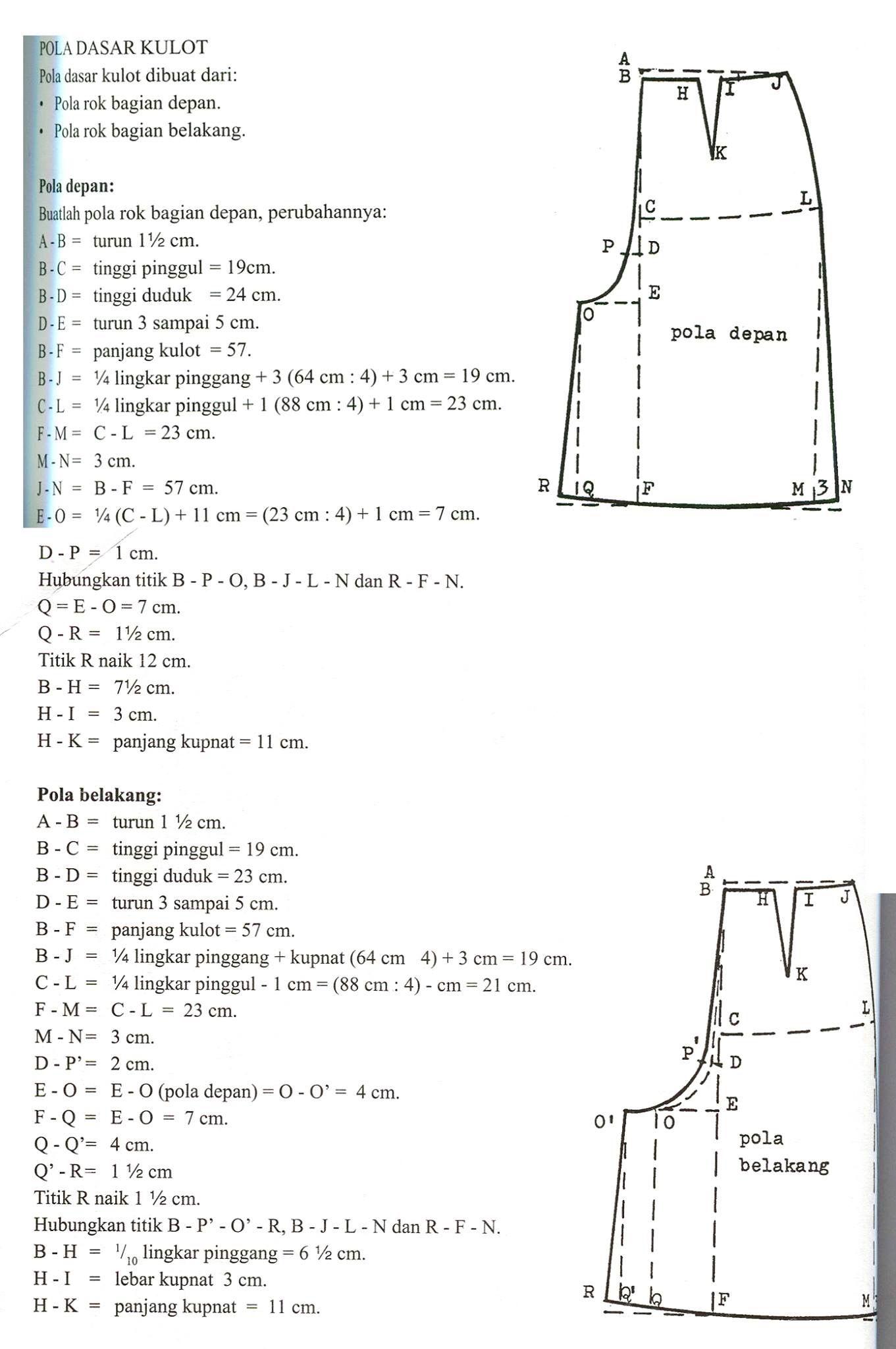 Culottes Line Pattern Sewing Pinterest Patterns Celia Celana Rok Pant