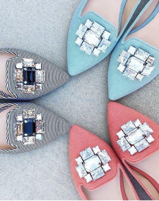 Bejeweled Flats