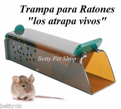 Details about TRAMPA para RATONES, RATONERA Los atrapa vivos!! Sueltalos despues. Roedores