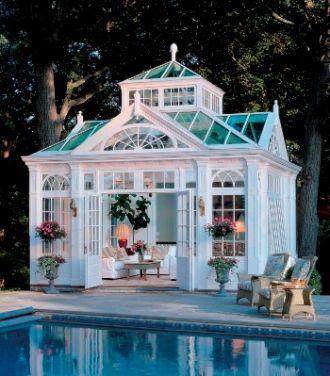 6 Beautiful Backyard Conservatories