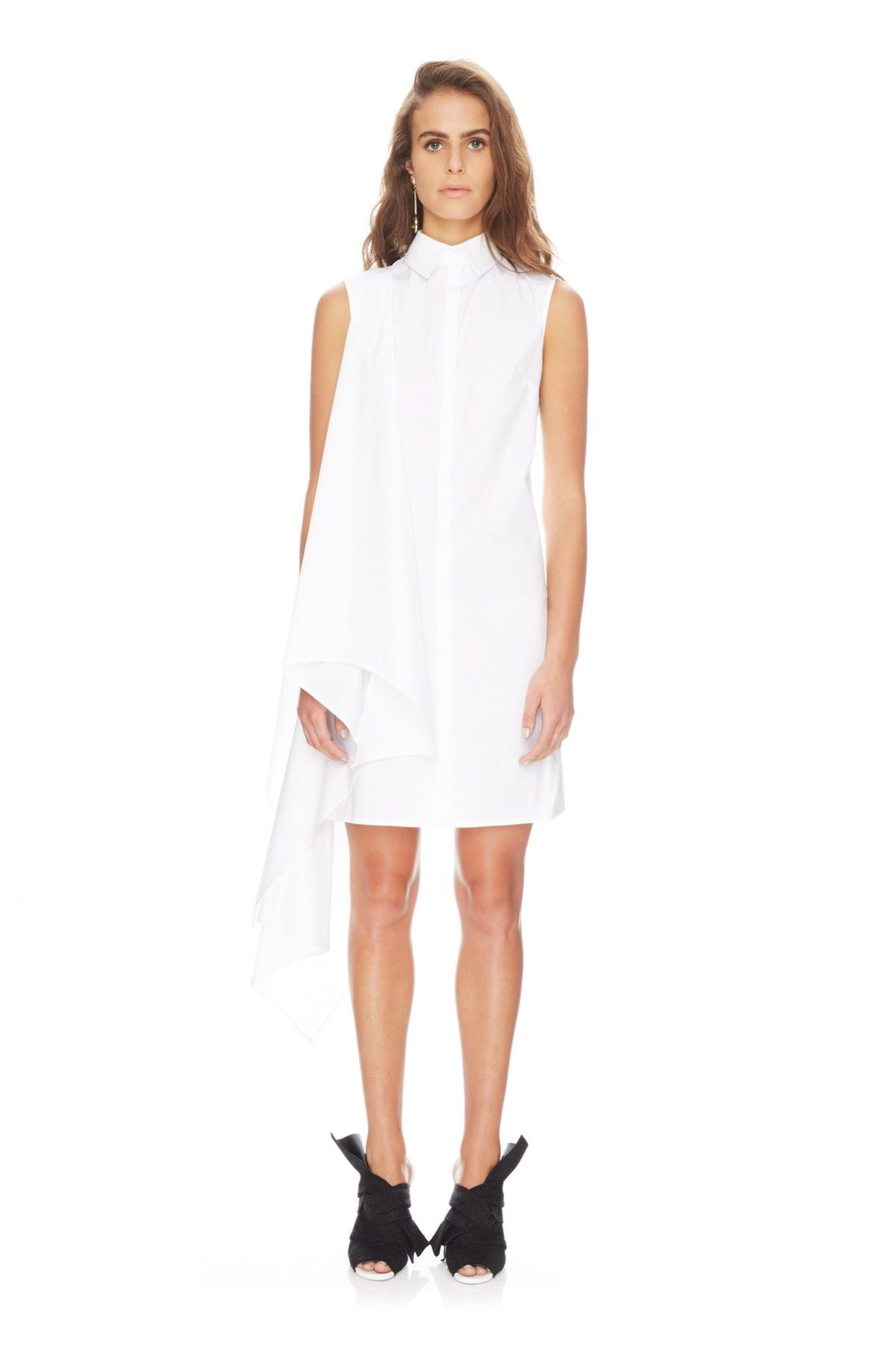 1bf790e549 TY-LR THE RAPID DRESS WHITE - TY-LR