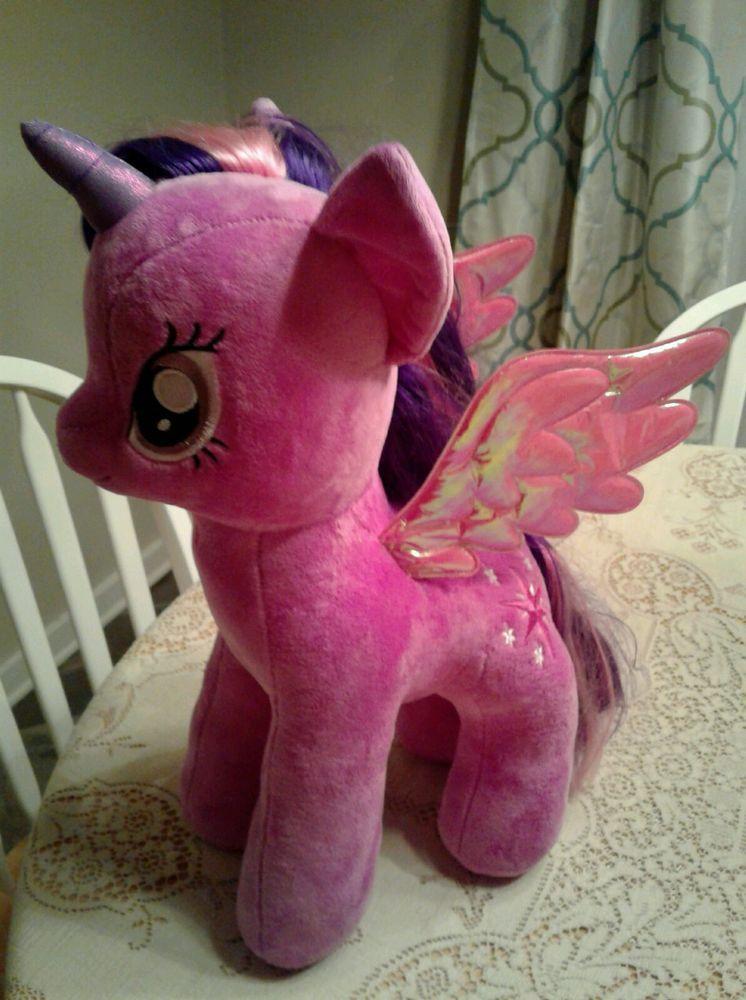 52822349004 Giant TY My Little Pony Twilight Sparkle Beanie Babies Stuffed Plush brony  gift  Ty
