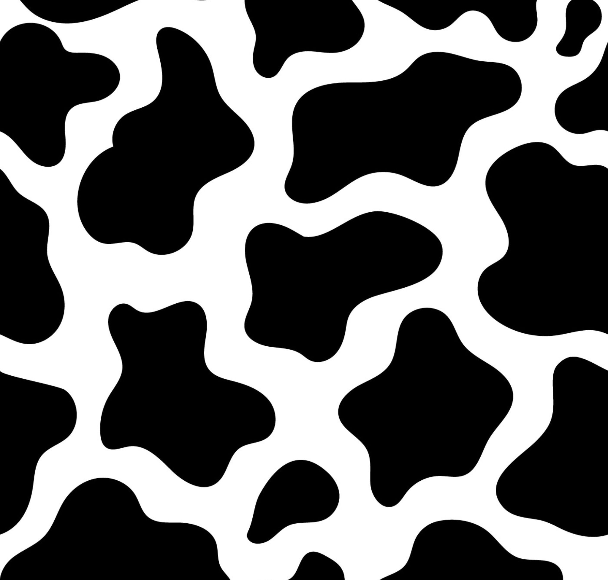 Cow Print Aesthetic Background