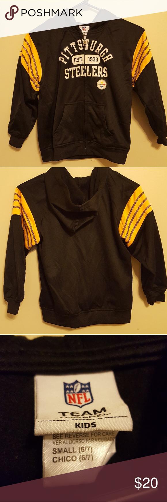 the best attitude 3bf4a 98896 Kids Steelers jacket Lightweight kids Pittsburgh Steelers ...