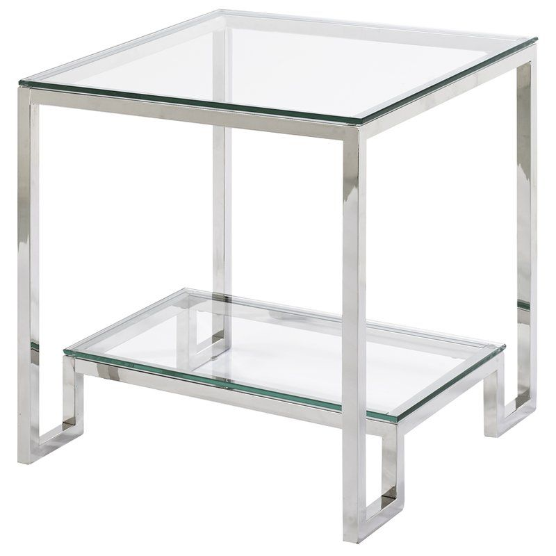 Blair End Table In 2019 End Tables Table Glass End Tables