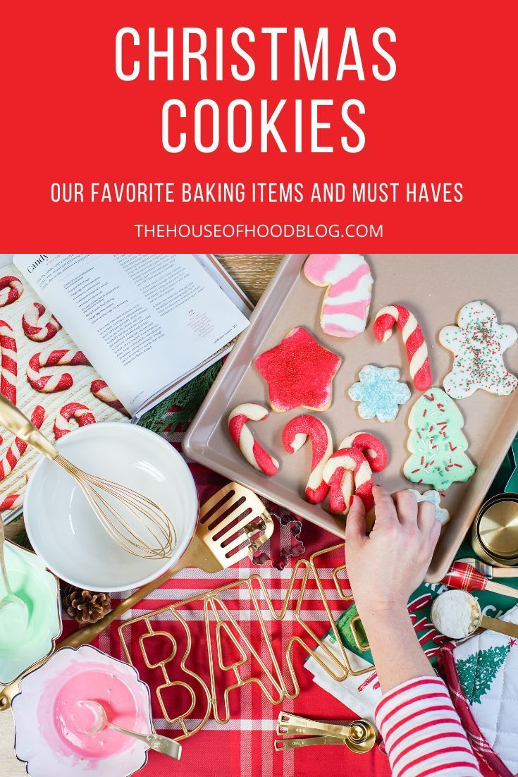 Chelsee from The House of Hood Blog shares her families Christmas cookie decorating day complete with all the baking necessities you'll need! Christmas cookies are our favorite tradition and the girls love getting involved! #christmascookies #sugarcookies #royalicing #cookiebaking #cookierecipe #bestsugarcookies #kitchendecor #whitekitchen