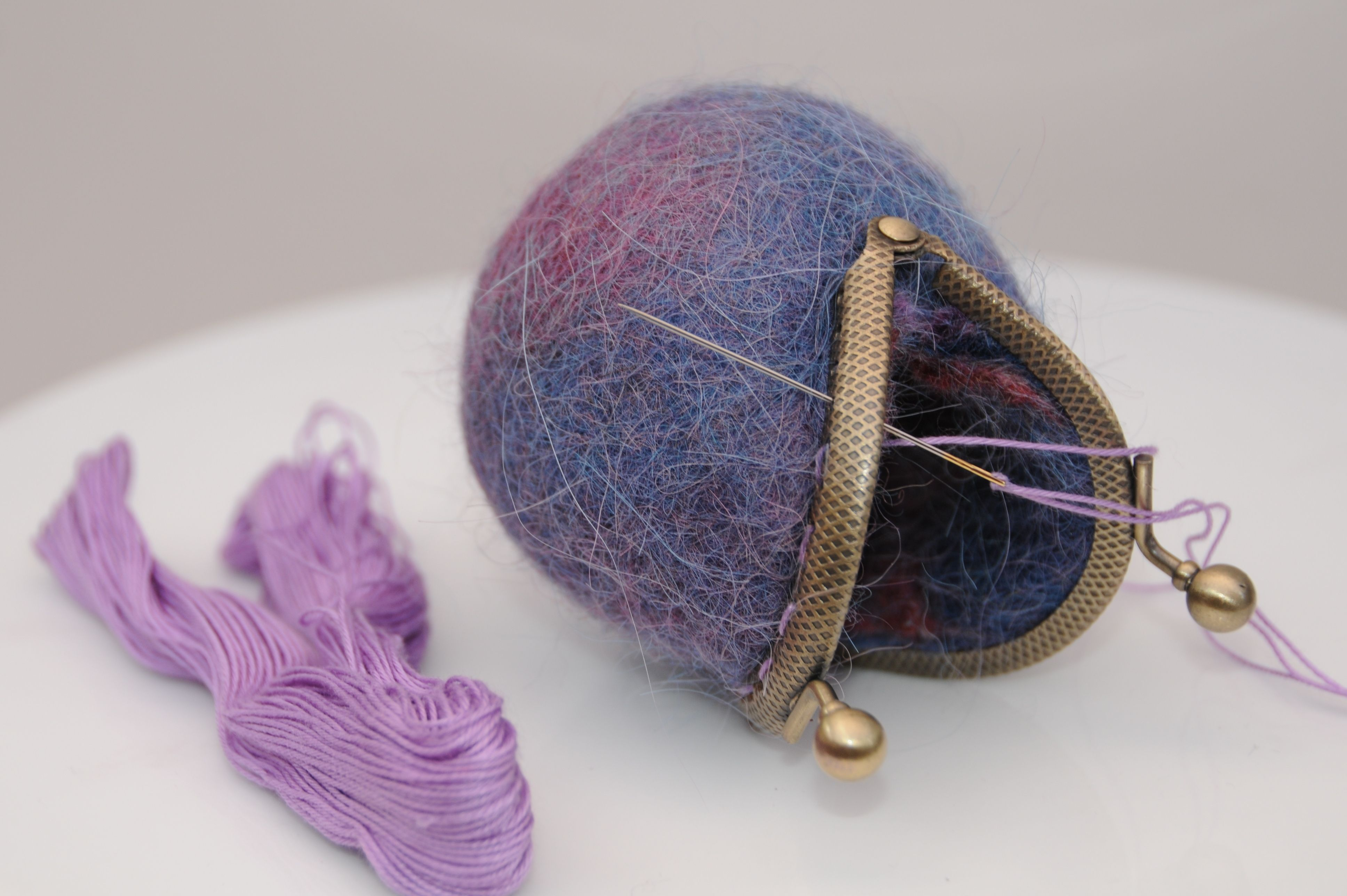 How to make wet felted coin purses a free tutorial felting wet felted coin purses easy tumble dryer method free wet felting tutorial baditri Images