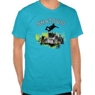 Sk8town II. T-shirts