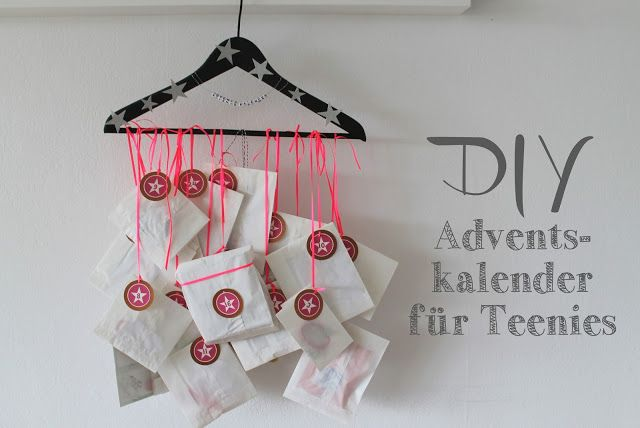 DIY Adventskalender für Teenies