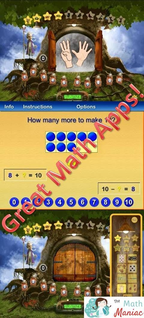 Here are 2 great math apps for K-1 students! | TpT Math Lessons ...