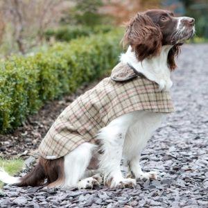 Mutts Hounds Balmoral Check Tweed Dog Coat Dog Coats Dogs Pets