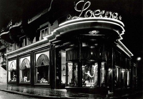 Gran Via . La tienda Loewe, establecida en 1939