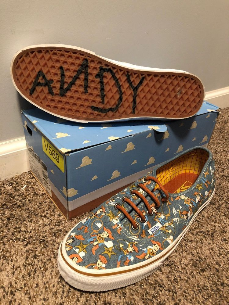 Vans Toy Story Limited Edition Shoes Men Size 10.5 Women