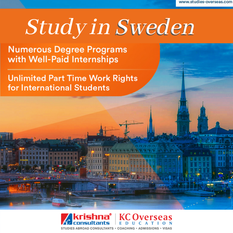 Sweden To Be Your Study Abroad Destination International Students Student Services Sweden