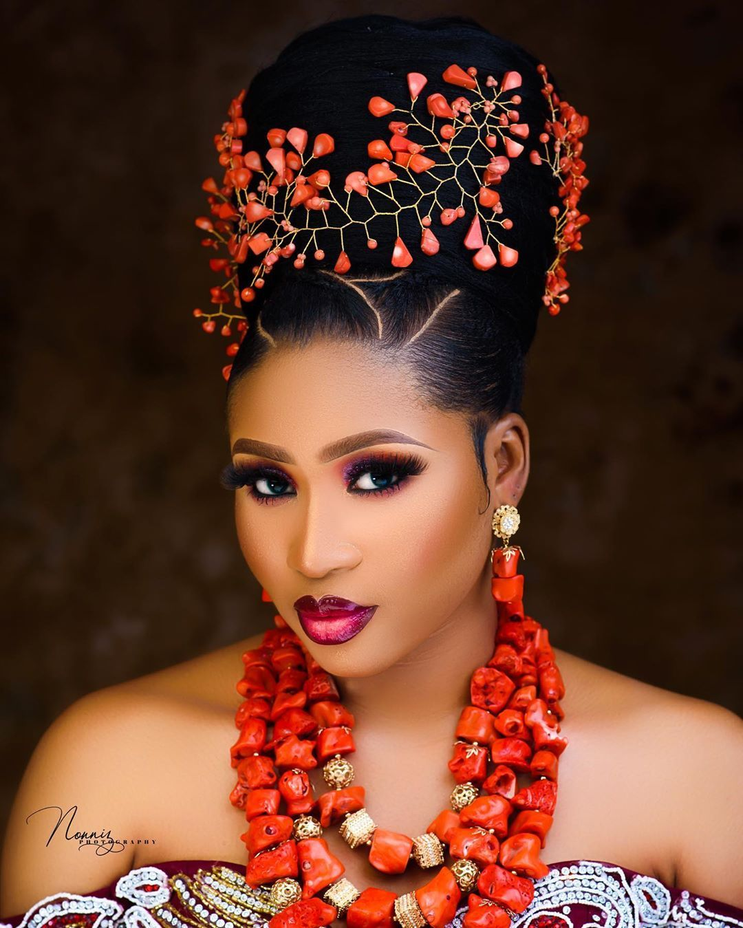 Here S How To Slay Your Igbo Traditional Wedding Look African Wedding Hairstyles Bridal Hair Inspiration Igbo Traditional Wedding