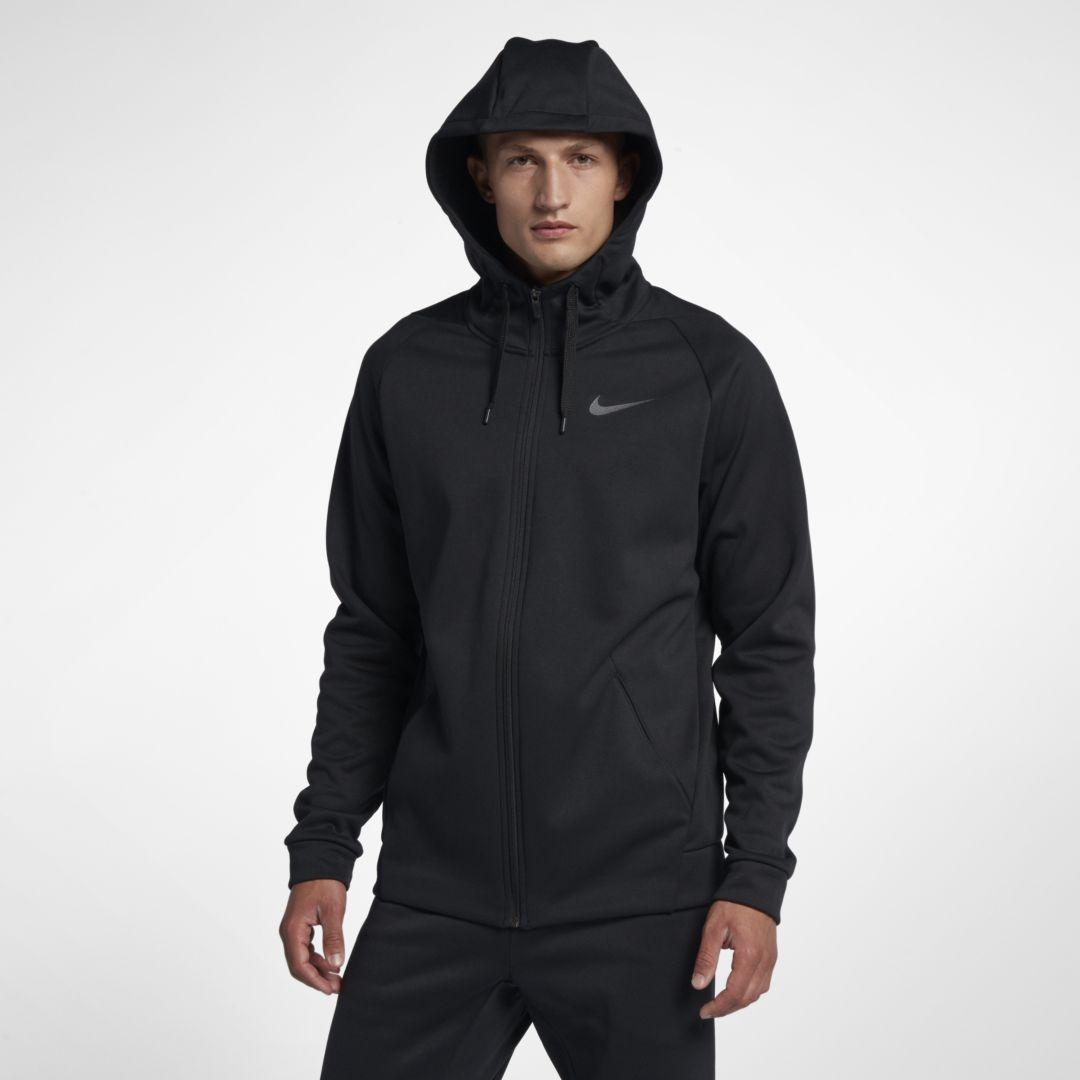 Therma Men's Full Zip Training Hoodie | Nike dri fit, Tall