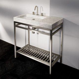 Nice Lacava Stone Single Bowl Vanity   Modern   Bathroom Vanities And Sink  Consoles   Other Metros