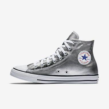 Converse Chuck Taylor All Star Metallic High Top Women's Shoe