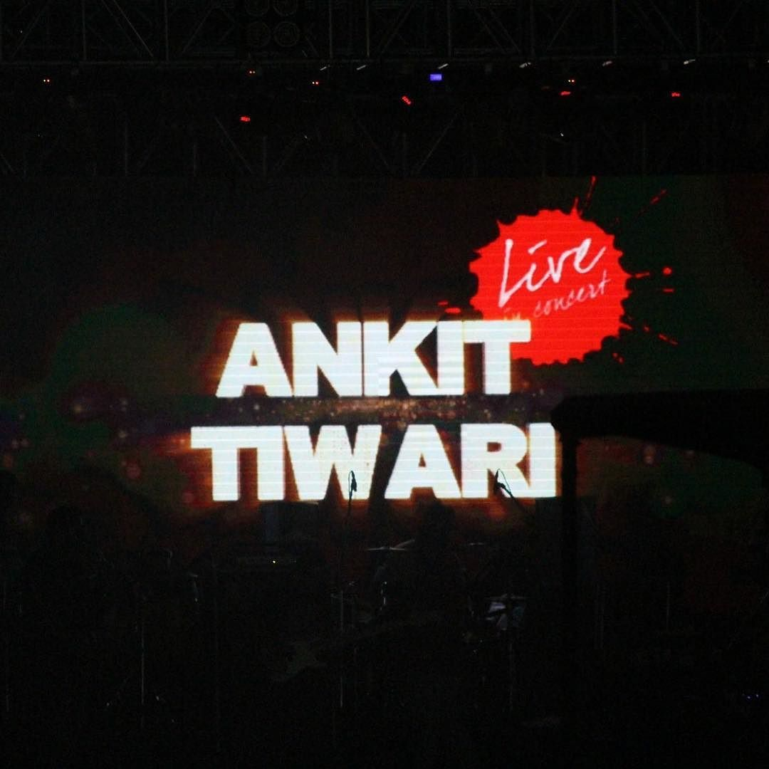 Ankit Tiwari Live Concert in AIIMS Pulse  The event was