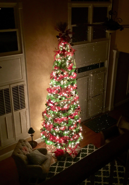 12 Foot Deck Mesh Tree Christmas Tree Tall Tree Mesh
