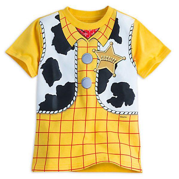 27611f66a Nuevo Con Etiquetas De Disney Store De Toy Story Woody Disfraz Niño Manga  Corta Camiseta 5 6