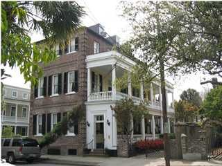 The Charleston Single House (note: these are NOT row houses). One ...