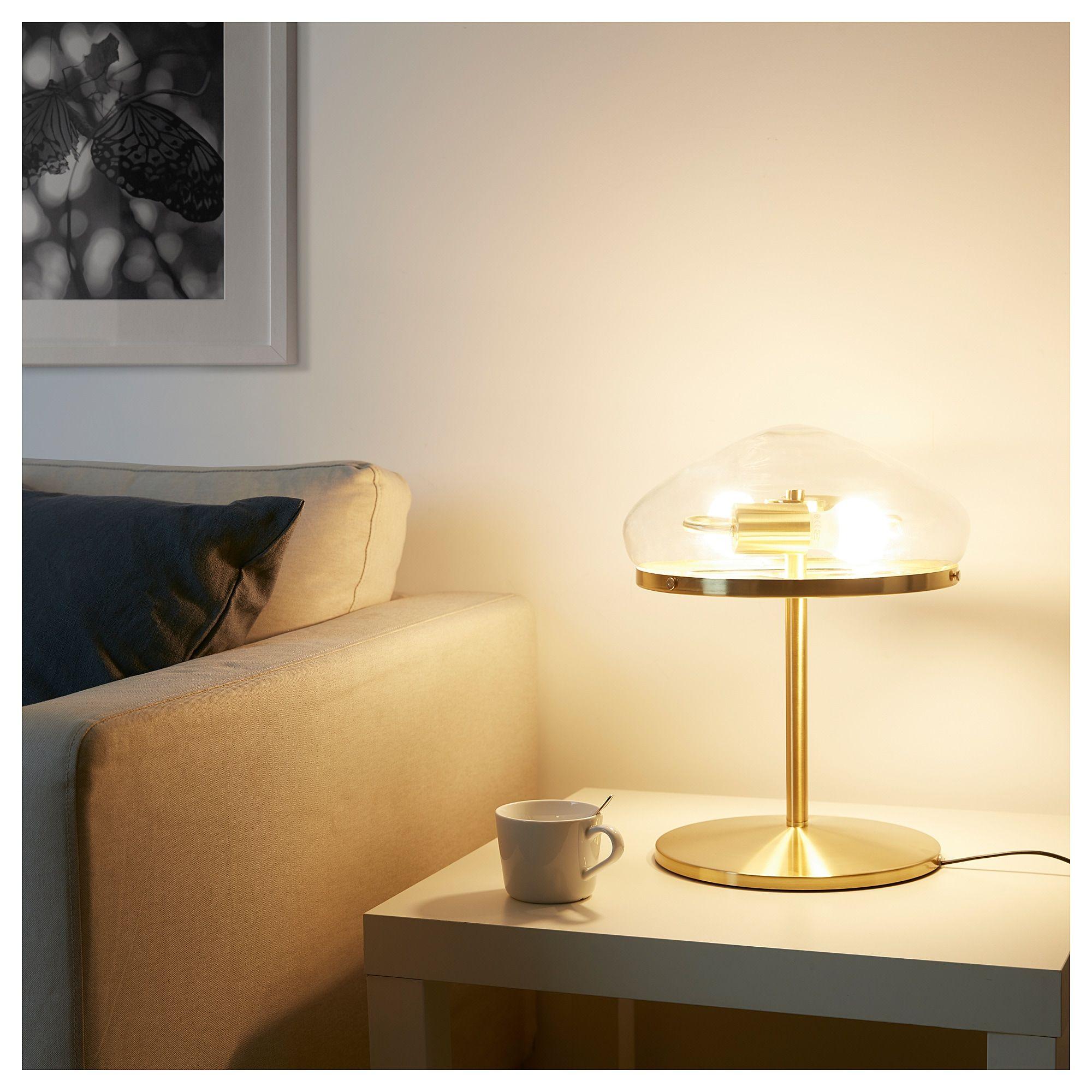 Atersken Table Lamp Clear Glass Ikea Glass Table Lamp Table Lamp Clear Glass Table Lamp