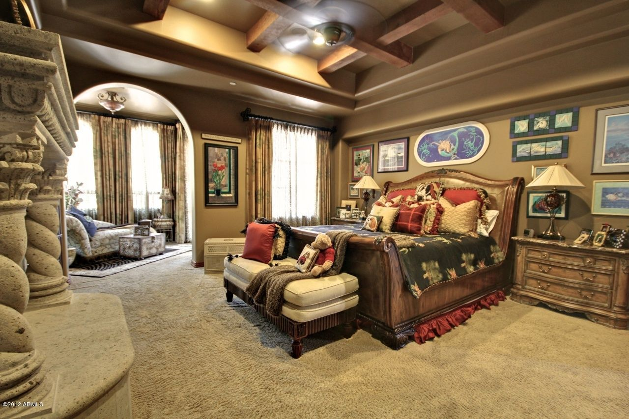 Master Bedrooms With Fireplace 7336 Wallpapers