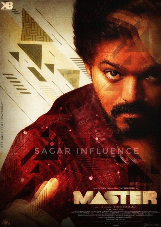 Most Awaited Second Look Of Master Starring Thalapathy Vijay Is Here In 2020 Actor Picture Master New Poster