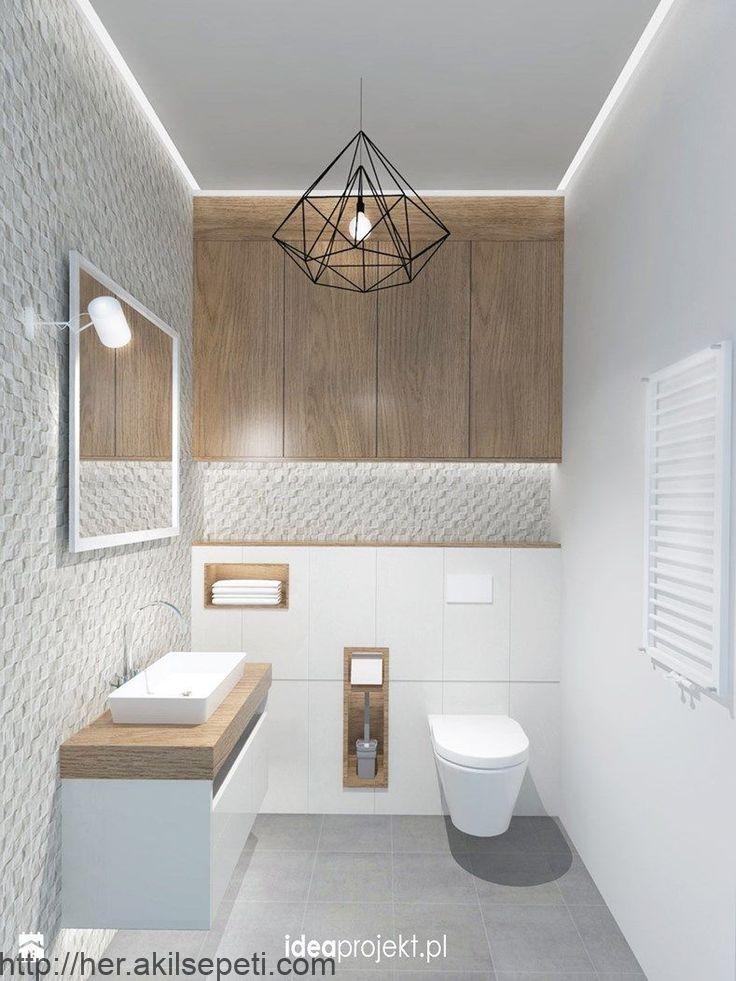 Badezimmer Im Skandinavischen Stil Foto Von Der Idee Design Badezimmer Skandy Stil Badezimm Bathroom Interior Grey Bathrooms Designs Toilet Design