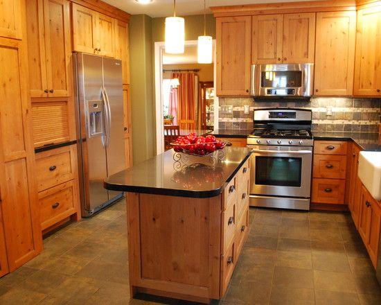 Wonderful Knotty Pine Wood Flooring Rustic Kitchen With Awesome Knotty Pine Kitchen With Slate Floors A Knotty Pine Kitchen Pine Kitchen Pine Kitchen Cabinets