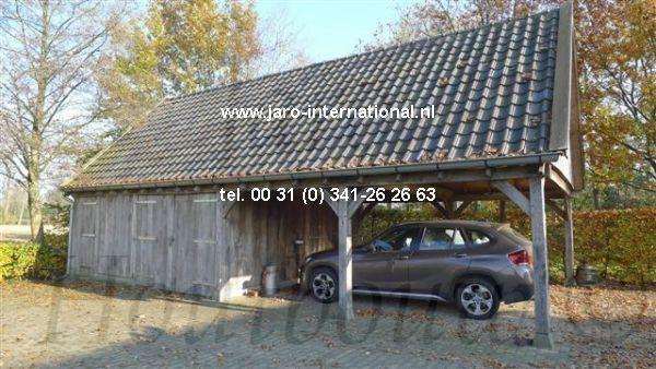 Www Jaro Houtbouw Nl 0341 759000 Eikenhouten Garage Met Carport