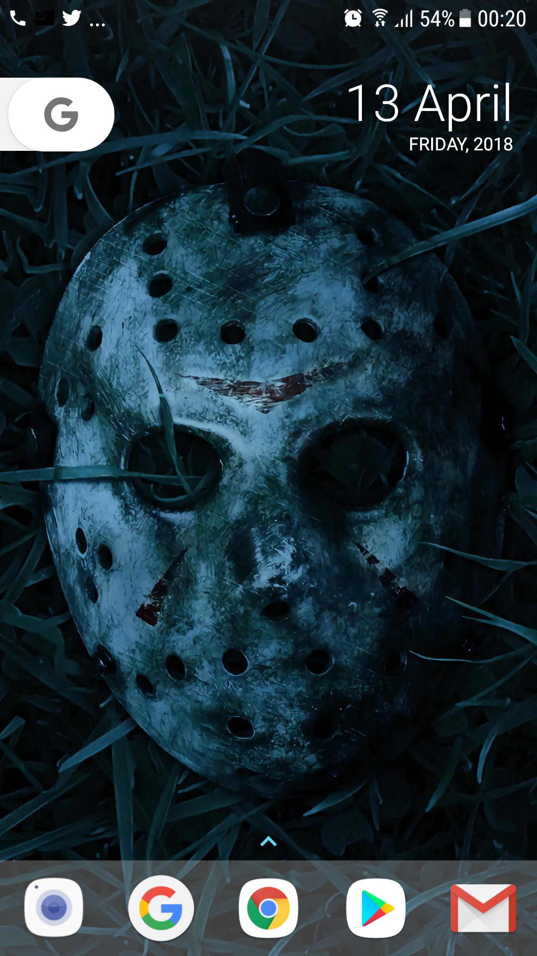 In The Spirit Of Friday 13th I Changed My Wallpaper