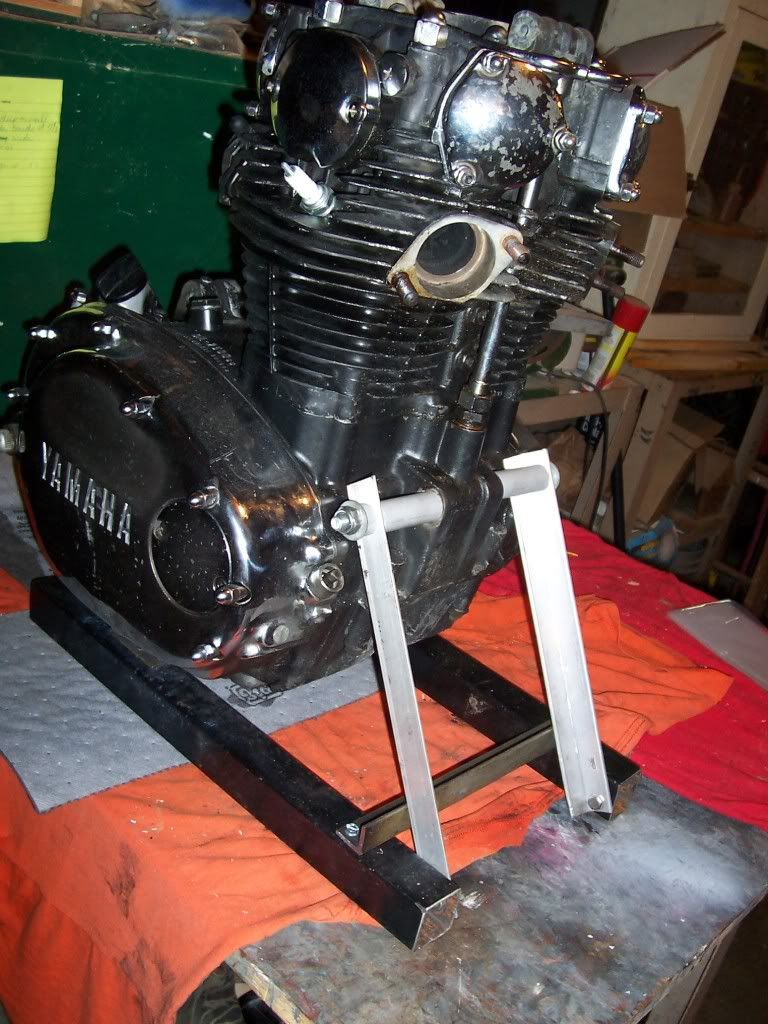 Cleaner Engine Stand Plans - Page 3 - XS650 Forum | My XS 650 Build