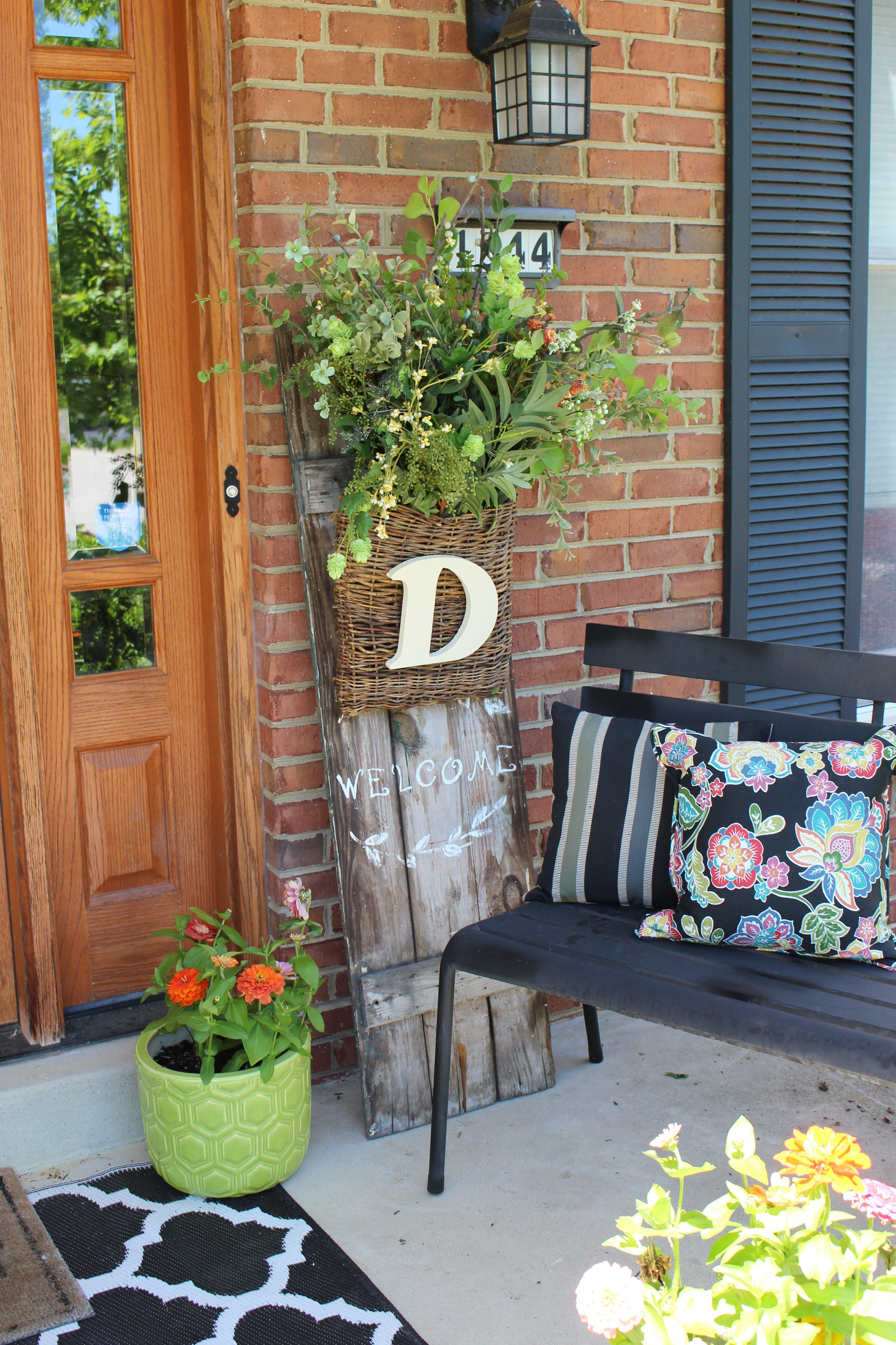 Spring Porch Decorating For Spring Outdoors Flowers Gardening Monrovia Colorful