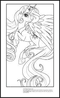 My Little Pony Princess Celestia Coloring Pages Coloring99 Com My Little Pony Coloring My Little Pony Princess Princess Coloring Pages