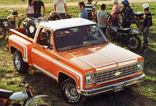1974 Chevrolet Stepside Pickup Truck Chevrolet Trucks Chevy