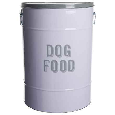 Fringe Studio Jumbo Retro Dog Food Storage Tin 13.2x19