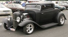 ford model b18 with fender 3window coupe classic cars vintage 32 ford ford pinterest