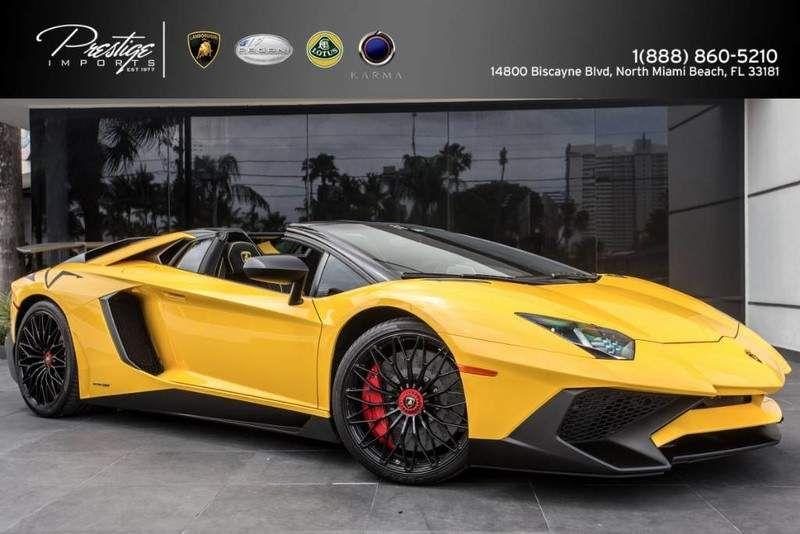2017 Lamborghini Aventador Superveloce Roadster North Miami Beach Fl