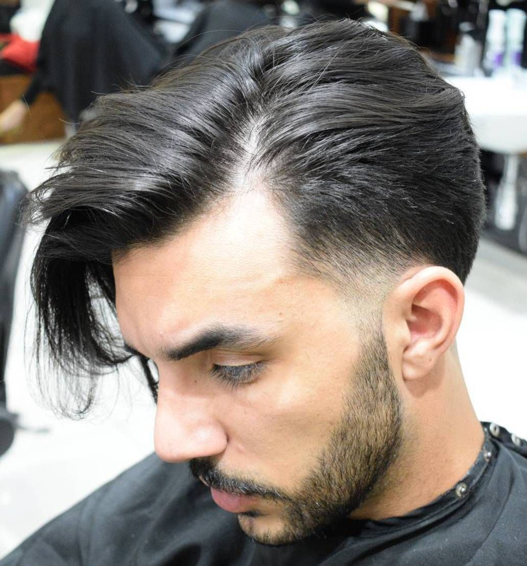Haircuts for men who are balding call it a temp fade or temple fade either way itus trending  temp