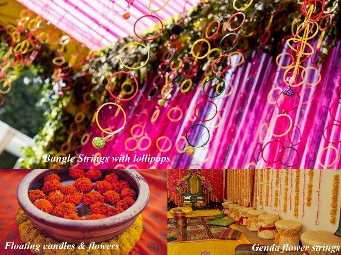 Asian Mehndi Party Ideas : Diy decor ideas for your mehendi three cheap chic