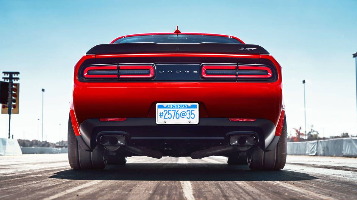 Dodge Rolled Out The Third Teaser For The 2018 Challenger Srt Demon