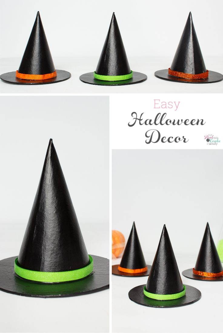 Easy Halloween Craft for your Halloween Decorations Easy halloween - halloween decorations for kids