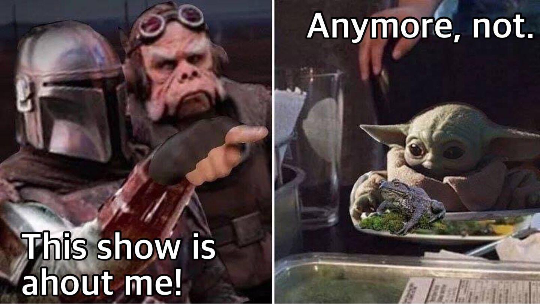 Get Your Baby Yoda Memes Here Album On Imgur Star Wars Humor Yoda Meme Star Wars Memes