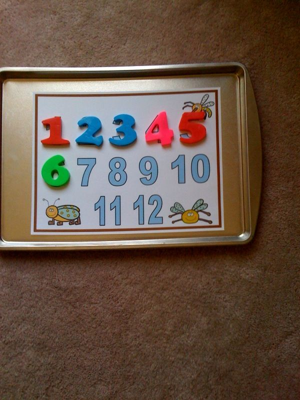 Preschool Printables: Magnet Bug Printable