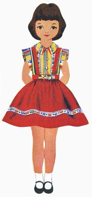 Betsy Mccall Paper Dolls The First Ten Years Paper Dolls Vintage Paper Dolls Dolls