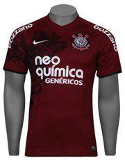 bf2278e9d6 Camisa Nike Corinthians III 2012 s nº