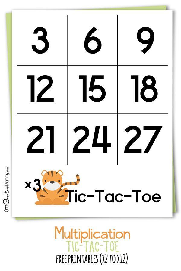 math worksheet : 1000 images about education  math on pinterest  multiplication  : Tic Tac Toe Math Worksheets